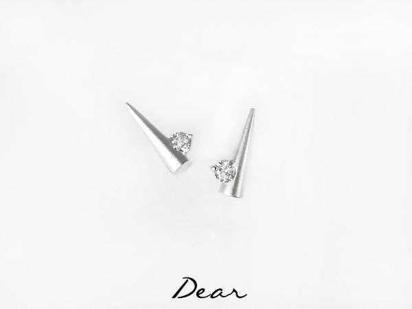 ◎【 Dear Jewelry 】◎ 超性格K金耳環│不過敏 耐用不褪色 天天帶不離身也可以---免運