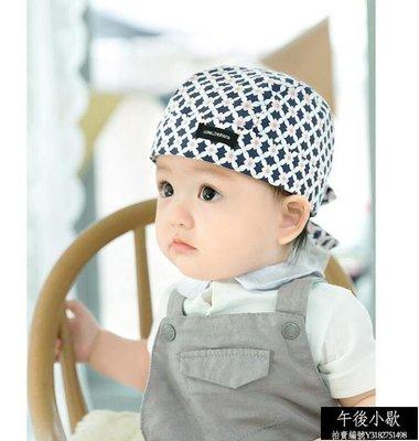 熱賣品免運 嬰兒帽子0-3-6-12個月男女寶寶兒童帽海盜帽子套頭帽純棉頭巾春秋【午後小歇】