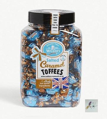 [要預購] 英國代購 英國WALKERS NONSUCH 桶裝英式鹽味焦糖太妃糖 1.25kg