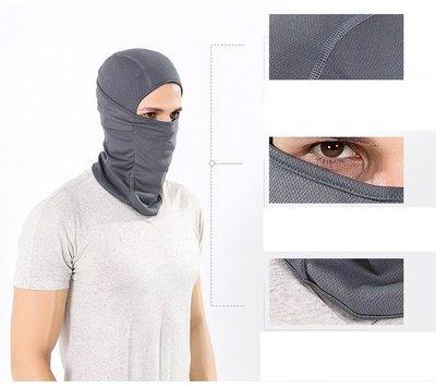 【MF22飛虎帽】運動軟裝備巴拉克拉法帽護臉CS頭套戰術防護面罩防曬黑色