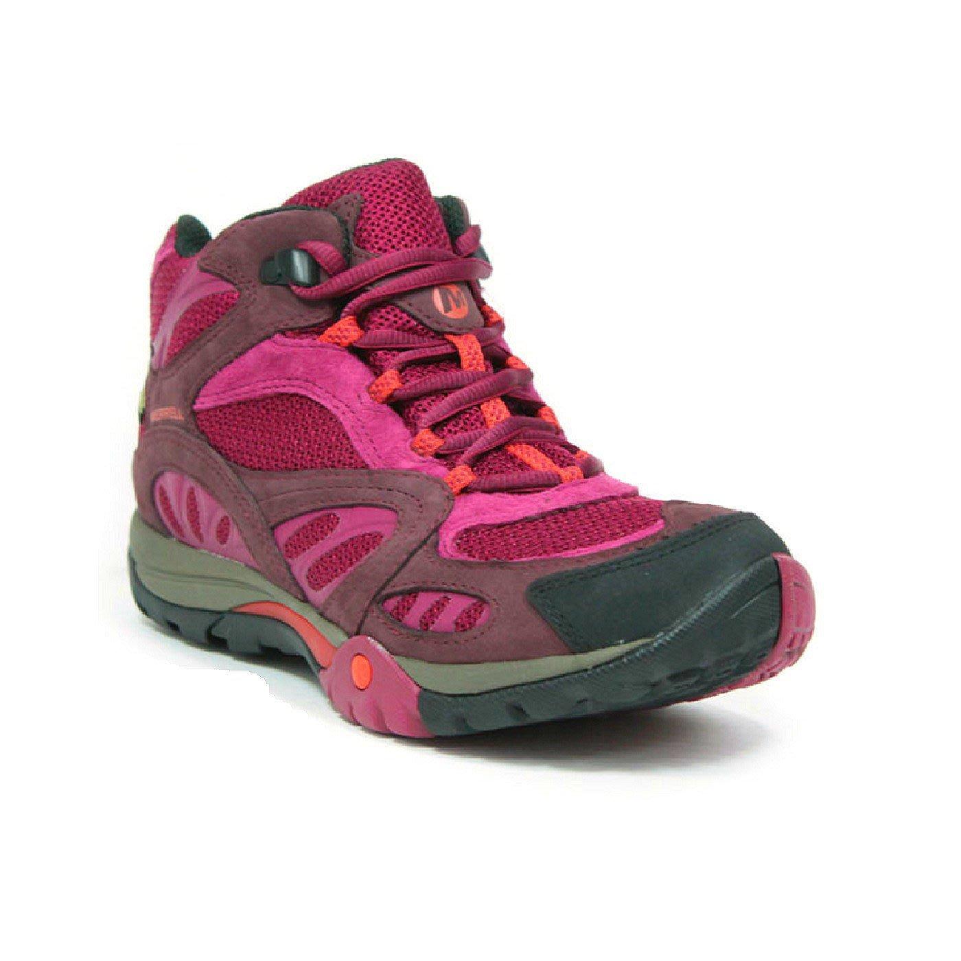 tulokas kuuma tuote ensimmäinen katsaus MERRELL AZURA MID GORE-TEX 牛巴戈網面 野趣健行登山鞋 秋冬新色 女 雪靴