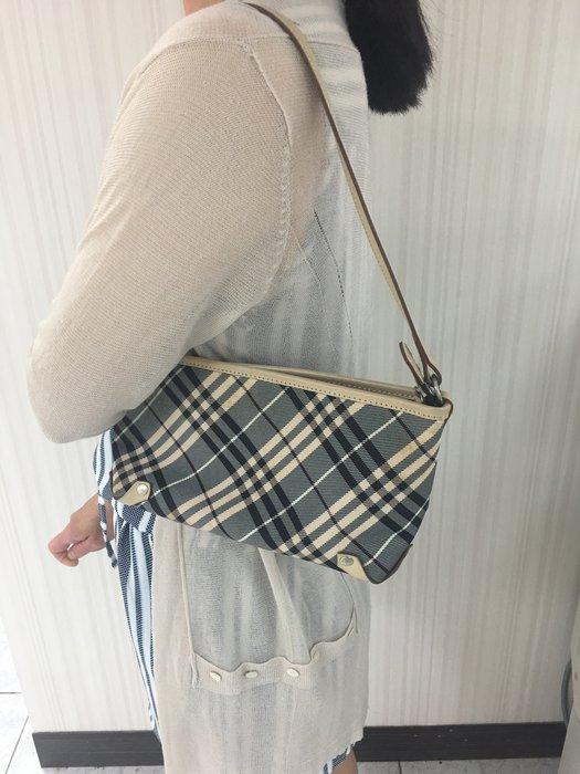 BURBERRY / 日本製 🇯🇵 /   日本藍標 /側背包