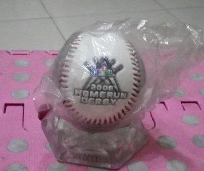 棒球天地----全新未拆封2006全壘打大賽銀面紀念球