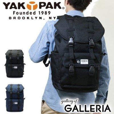 日本 YAKPAK 黑色CORDURA防水潑水牛津布 雙扣型 背囊 ($450 包順豐)