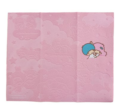 Little Twin Stars Sanrio 港版 壓紋圖案 眼鏡布 Cleaning Cloth (包本地平郵)