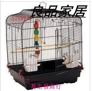 【易生發商行】平頂鸚鵡籠 鳥籠 群鳥籠 鸚鵡籠 鳥籠大號八哥籠鷯哥籠珊瑚天籠F5924