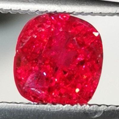 💖玉殿珠寶💖緬甸曼辛-絕地武士尖晶石