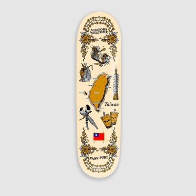 [HIGHFIVE COFFEE] PASS~PORT RANGE#28 澳洲滑板品牌 台灣總代理 護照牌 TAIWAN