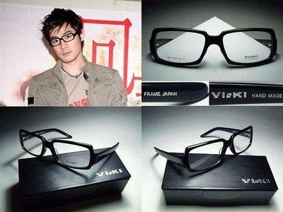 信義計劃 Vioki 日本 手工眼鏡 下拉式 方框 大框 超越Rx 雷朋 REIZ Moscot Spivvy Tart