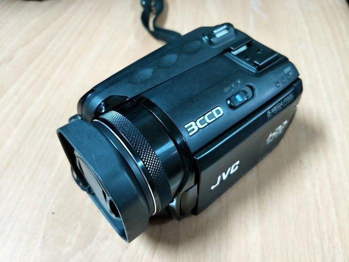 ☆手機寶藏點☆ JVC GZ-MG505U HD 30GB 硬碟式攝影機 攝影機 附原廠電池 電源充電器 Che A12