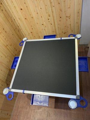 全新麻將桌(鐵框) 三尺方桌 摺疊桌 麻將桌 打牌桌 會議桌 餐桌 杯架桌 簡餐桌 過年麻將桌 A1434 【晶選傢俱】