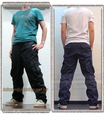 《甲補庫》__超 in 多口袋 特警勤務機動長褲___深藍色、黑色(加大尺碼)