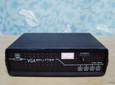 Y【小劉二手家電】VGA 1對4 螢幕分接器