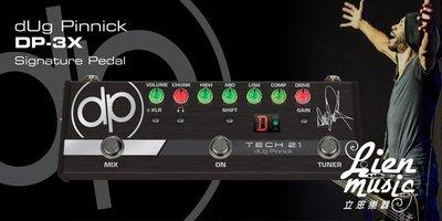 『立恩樂器』免運優惠 買送短導線 Tech21 dug Pinnick Bass Distortion 效果器 代言款