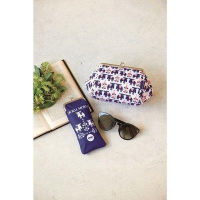 ☆Juicy☆日本雜誌附贈moz 麋鹿 北歐風 瑞典 雜貨品牌 珠扣口金 收納包 化妝包 手拿包 萬用包 7282