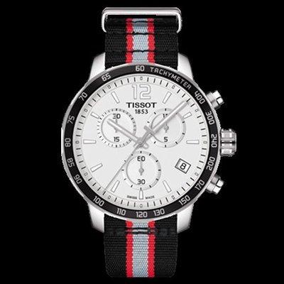 Tissot 天梭時捷系列NBA球隊款尼龍帶石英男腕錶波特蘭開拓者隊 T0954171703727