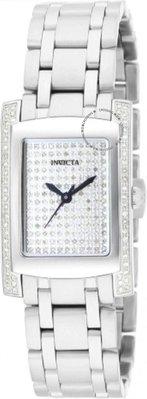 展示品 Invicta 15629 Angel Quartz Analogue Diamond Accents Stainless Steel Wom