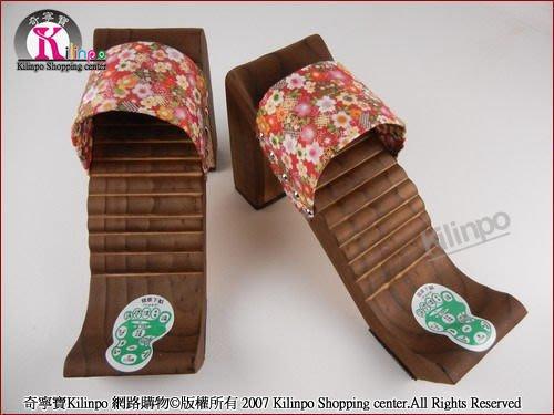 [奇寧寶雅虎館] 250111 卡舒胡原木頭拉筋鞋 /E靜音止滑伸展瑜珈瑜伽拉提臀筋瘦腿健康養生按摩木屐搖擺鞋板器