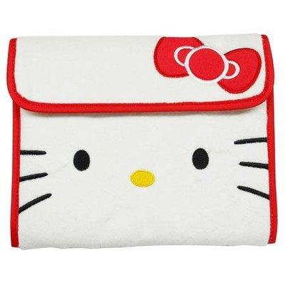 尼德斯Nydus~* 日本正版 三麗鷗 凱蒂貓 kitty 零錢包 證件夾 護照套 多用途 手拿包 手帳 經典款