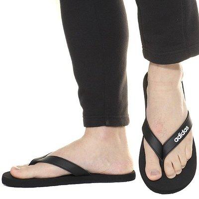 【鞋印良品】adidas 愛迪達 EEZAY FLIP FLOP 夾腳拖 人字拖 EG2042 黑白 運動 海灘拖鞋