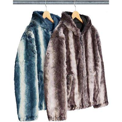 【美國鞋校】預購 Supreme FW20 Faux Fur Reversible Hooded Jacket 夾克
