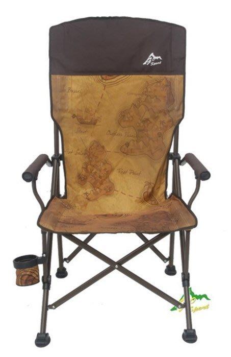 ☆台南PQS☆GO SPORT 戶外露營休閒 大川椅 大雷神 高強度鐵管椅進化版  負重120公斤 導演椅