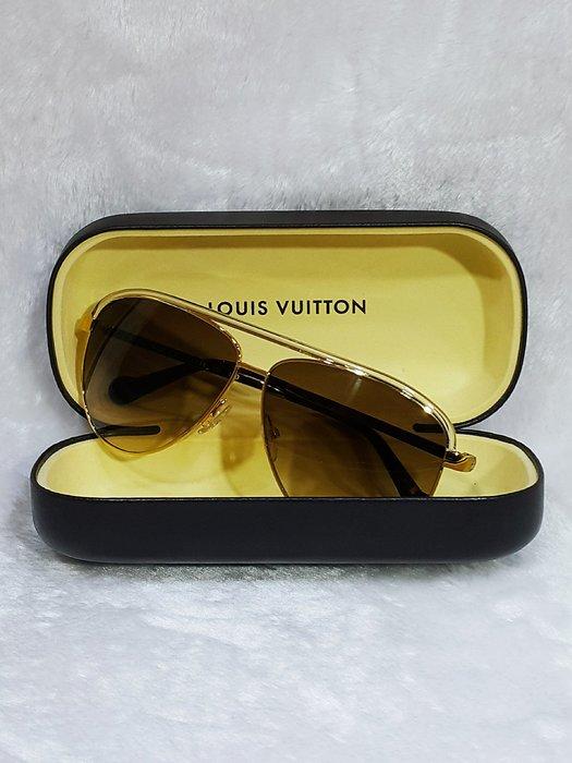 *旺角名店* ㊣ Louis Vuitton LV 金屬框 飛行款 墨鏡 太陽眼鏡