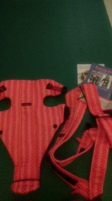 (二手如新 保證真品) 可刷卡 瑞典 Baby Bjorn 嬰童 背巾 橘紅色 緹花 透氣 北歐 限量版 台北市
