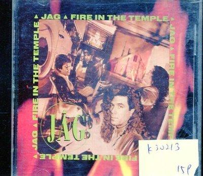 *真音樂* JAG / FIRE IN THE TEMPLE 二手 K30213