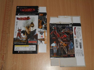 Takara Kaiyodo KT Collection Devil May Cry Trading Figure Part 2 惡魔獵人 食玩盒蛋 全套6款
