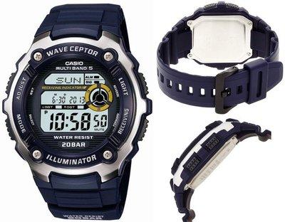 日本正版 CASIO 卡西歐 SPORTS GEAR WV-M200-2AJF 電波錶 男錶 日本代購