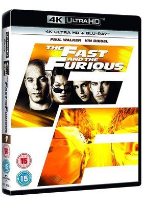 毛毛小舖--藍光BD 玩命關頭 4K UHD+BD 雙碟限定版 Fast & Furious
