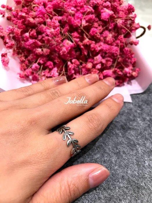 ✽JoBella✽925銀 葉子造型戒指 現貨