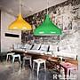 燈罩簡約現代單頭餐廳吊燈創意個性吧台網吧...