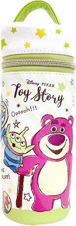 大賀屋 日貨 玩具總動員 桶型 筆袋 收納包 化妝包 包包 收納袋 化妝袋 鉛筆袋 迪士尼 正版 J00017298