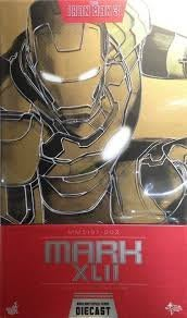 HotToys MMS197 D02 鋼鐵人3 Iron man IM3 MARK 42 Die Cast 合金戰損版