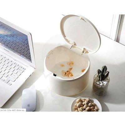 桌面按壓式垃圾桶 迷你可愛創意檯面塑膠收納桶 _☆[好溫馨_SoGoods優購好]☆