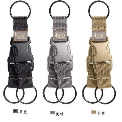 【angel 精品館 】馬蓋先Magforce 雙鎖匙圈扣環 1716系列 / 3色可選 / 單色販售
