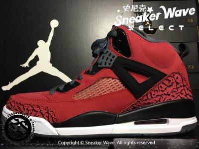 Nike Air Jordan Spizike Toro Bravo 315371-601喬丹史派克李黑紅鮪魚公牛爆裂紋