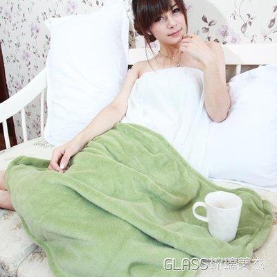 『免運』小毛毯被子珊瑚絨毯子辦公室午睡毯夏季空調毯單人學生蓋腿毯 【品E生活館】