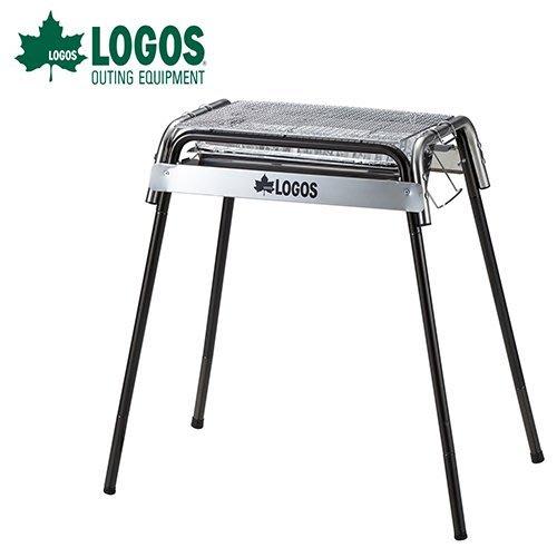 丹大戶外【LOGOS】日本 不鏽鋼花冠筒烤爐M 贈鋁箔炭盆 81062600