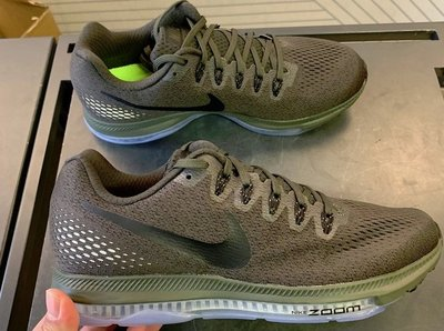 【RS只賣正品】Nike Zoom All Out Low 軍綠 878670-301 抗震 慢跑鞋
