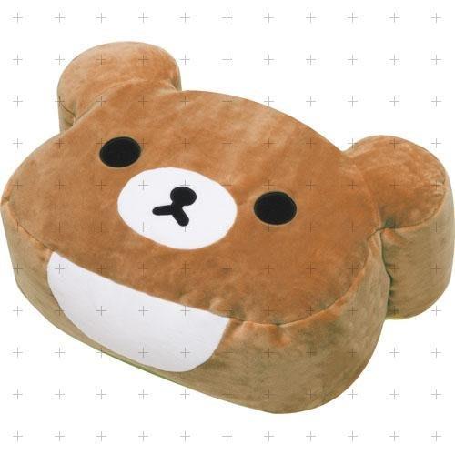 日本SAN-X (現貨) 懶熊朋友蜜茶熊超柔軟抱枕
