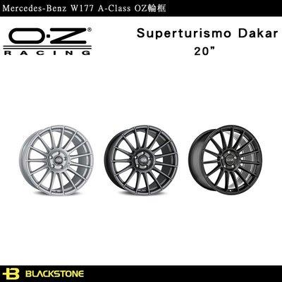 [黑石研創] Benz W177 A-Class OZ Superturismo Dakar 鋁圈 輪圈 【K1311】