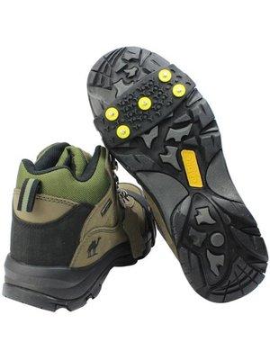 戶外旅行便攜式簡易冰爪 雪地防滑鞋套冰抓防滑冰爪兒童冰爪 天涯購物