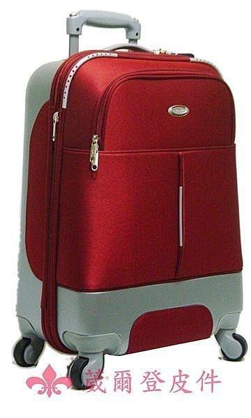 《葳爾登》法國傑尼羅特四輪28吋登機箱360度旅行箱ABS+EVA行李箱最新款式28吋8237紅色.