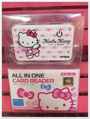 小花花日本精品♥ Hello Kitty  讀卡機 天使21085406
