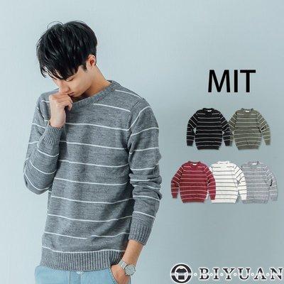 【OBIYUAN】台灣製 針織衫 高質...