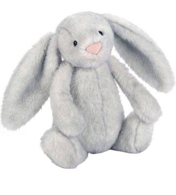 英國 JELLY CAT Bashful bunny 31cm 銀灰色(預購)