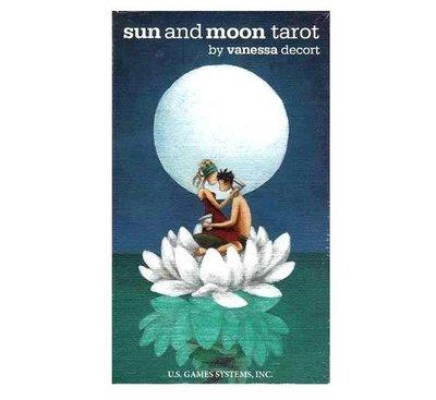 【預馨緣塔羅鋪】現貨正版日月塔羅牌Sun and Moon Tarot(禪意童話的風格)(全新78張)